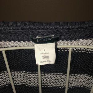 J. Crew Sweaters - J Crew linen sheer summer sweater.